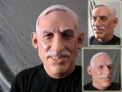 Latex Mask CHIEF DOC - Real. Male Effect FX Rubber Gum Disguise Face Mask
