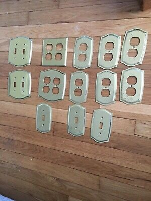 Solid Brass Switch Plate, Outlet Covers Heavy
