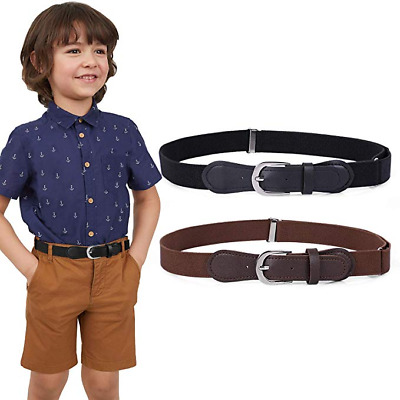 JASGOOD Kids Elastic Adjustable Belt Stretch Belts for Boys and Girls Pants 7001