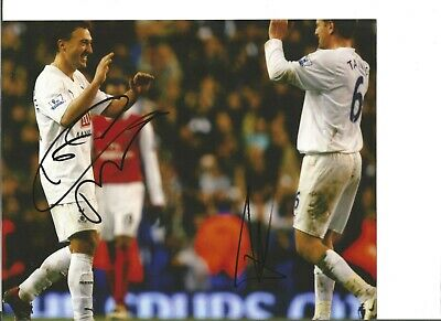Steed Melbranque and one other signed photo,  former football players EL437