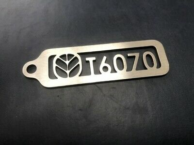 New Holland T6070 Keyring Stainless Steel 2mm