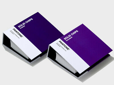 PANTONE Chips Coated & Uncoated. With 294 new solid colours. New 2019 version.