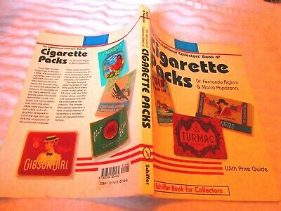 TOBACCIANA 1998 INTERNATIONAL COLLECTOR'S BOOK OF CIGARETTE PACKS Price Guide