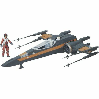 Star Wars / The Last Jedi Boosted X-Wing Fighter Pau Dedicated 1/72 Scale Model