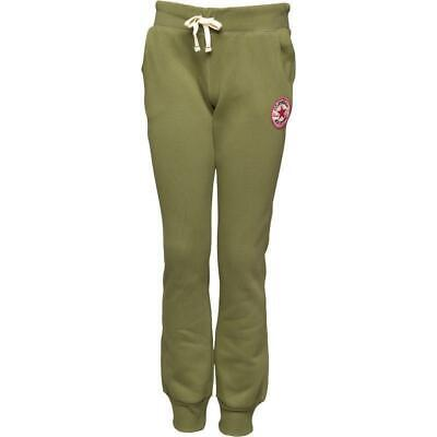 Childs Girls Boys CONVERSE GREEN JOGGERS L 10-12 YEARS KHAKI BOTTOMS BNWT