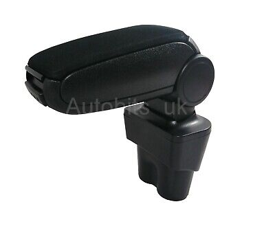 Black Fabric Cloth Armrest Center Console For Vw Caddy 03-19 / Vw Touran 03-15
