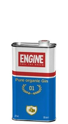 Gin Engine 42° cl 50 Made In Italy  100% Biologico