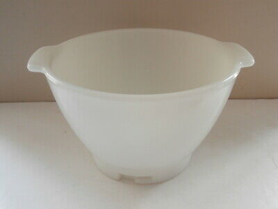 Genuine KENWOOD Chef / Major Standing Mixer replacementWHITE GLASS MIXING BOWL
