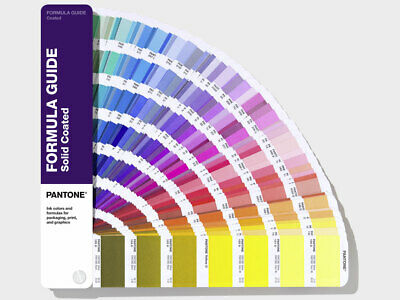 PANTONE Formula Guide Solid Gloss Coated Shows 2161 colours. Latest 2019 version