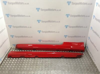 Ford Focus ST MK2 Side skirts RED