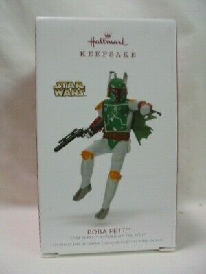 2018 Hallmark Keepsake Ornament Boba Fett Star Wars #22 B30