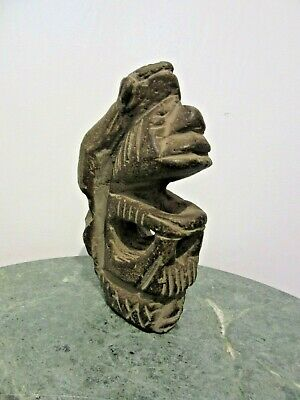 Ancient Made Of Stone Mythological Primitive Idol Statue