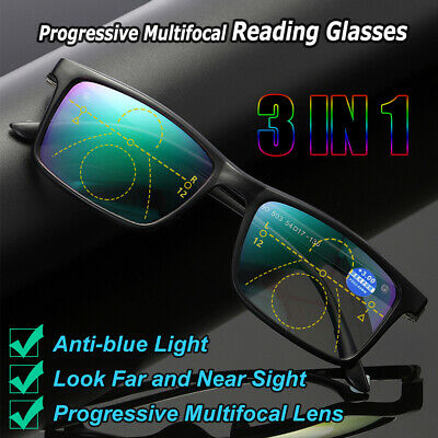 eyes Lunettes de lecture Anti - blue light Lentille multifocale progressive