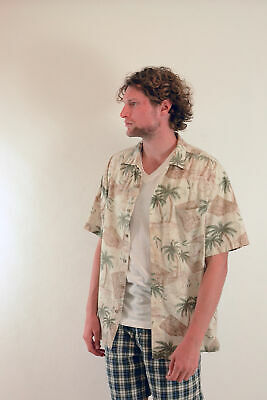 Camicia Hawaii Made in HAWAII M 4xl 100/% Cotone Camicia Hawaii Hawai VERDE