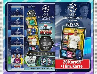 Topps Match Attax Champions League 2019/2020 1 x Multipack inkl.Limited Edition