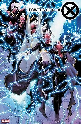 POWERS OF X #1 Character Decades Variant Storm 1st Print NM
