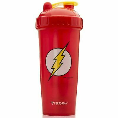 Performa PerfectShaker 28oz DC Comics The Flash Shaker Cup, Red