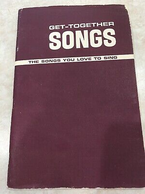 Women's Get-Together Songs 1942 Lorenz Publishing