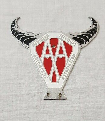 Northern Territory AA Car Bumper / Grille Mount Badge
