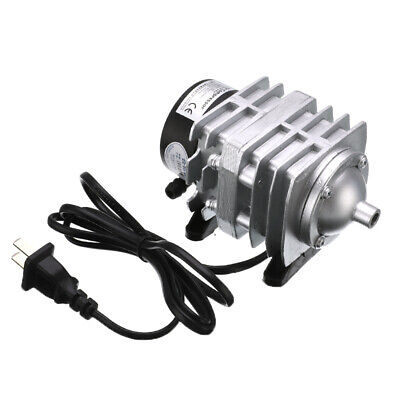 25W Electromagnetic Air Compressor Aquarium Oxygen Fish Pond Air Pump Aerator