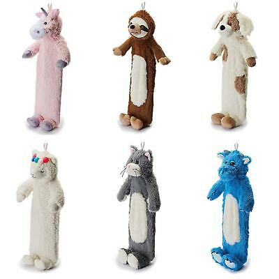 Warmies Hot Water Bottle With Cosy Cute Plush Removable Character/Animal Cover