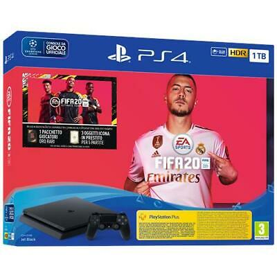 SONY Console PS4 Slim 1 TB + FIFA 20 Limited Bundle