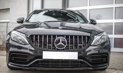 Mercedes W205 C Class Grille AMG GTS Style 2014+ Panamericana Grill