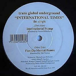 Transglobal Underground - International Times - Nation Records - 1995 #739243