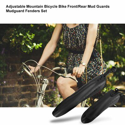 1Set Cycling Mountain Bike Bicycle Front Rear Mud Mudguard Nice Fenders G Z1X4