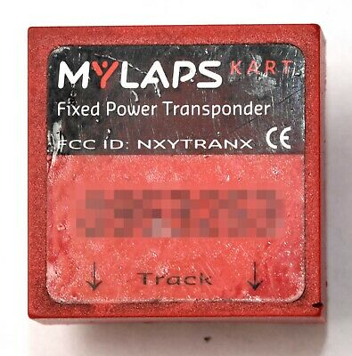 USED AMB 140 Kart Pit BIke Transponder