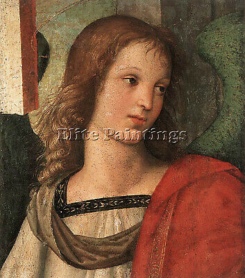 Raphael Angel Fragment Of The Baronci Altarpiece 2 Artist Painting Reproduction