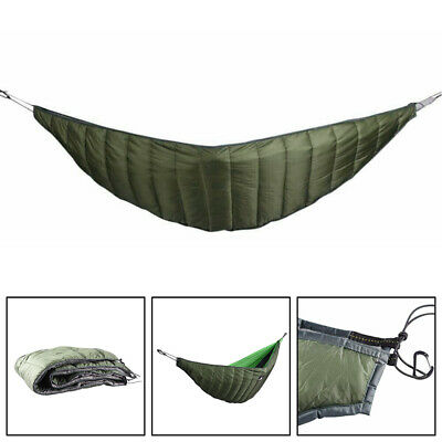 Tactical Camping Hamaca Gruesa Warm Windproof Cover Outdoor Spring Tour