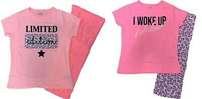 Girls Pyjamas Nightwear pyjama set sleepwear kids I Woke Limited Edition
