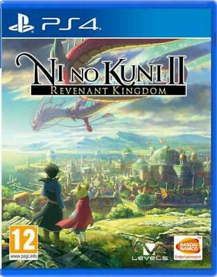 Ni No Kuni II 2 Revenant Kingdom PS4 NEW DISPATCHING TODAY ALL ORDERS BY 2 P.M,