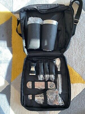 Bartender Portsble Kit From European Bartender School New 9 Pieces