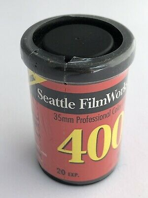 Seattle Film Works 35mm ISO 400 Print Film 20 Exp. *EXPIRED* 6/2000 New