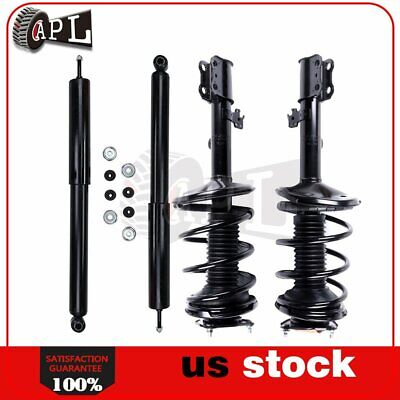 For 95-96 Toyota Camry Quick Install Complete Struts Shocks Assembly Mounts x4