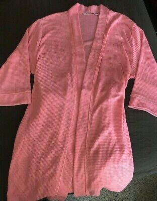 clear-cut texture website for discount new products for NOIRE JASMINE ROSE Cozy Wrap Sleepwear Robe Women's Large ...