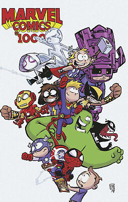 Marvel Comics #1000 Skottie Young Baby Variant 2019 1st print 80 years