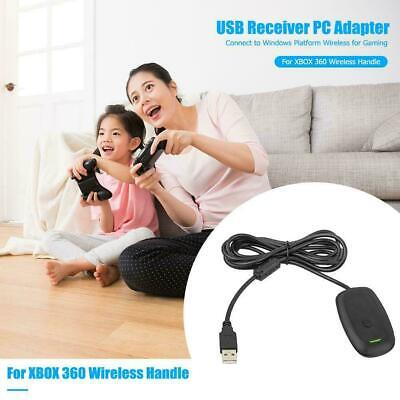 For Microsoft Xbox 360 USB Wireless Receiver Game Controller Adapter I4T6M