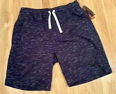 PUMA Men's Navy Lounge Short, Size Medium.  New with Tags