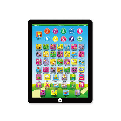 Laptop Tablet Pad Educational Learning Gift Toys For Baby Kids Children Ability