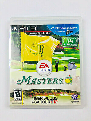 Tiger Woods PGA Tour 12: The Masters (Sony PlayStation 3) PS3 Complete game VG