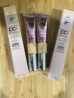 It Cosmetics CC+ Cream Your Skin but Better Illumination SPF (Medium /or Light)