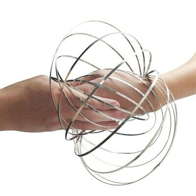 SUPER FUN HOT HAND SLINKY FLOW RINGS TORO TOY TRIPPY FUN ALL AGES FESTIVAL FLUX