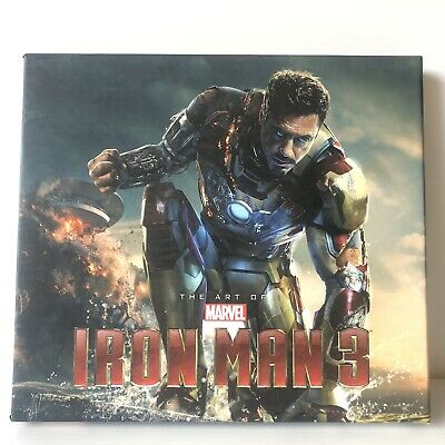 Marvel: The Art of Iron Man 3 - hardcover with slipcase