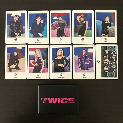 TWICE Japan 5th Single Breakthrough Hi Touch Release Event Photocard