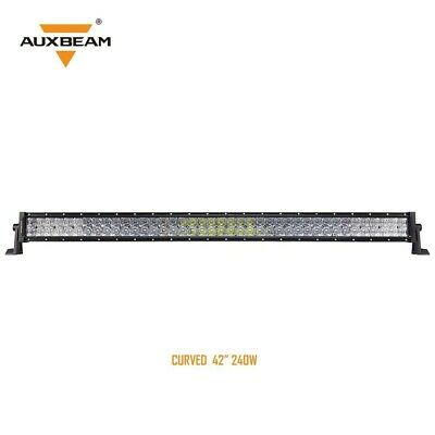 42 inch Curved LED Light Bar CREE Combo with 5D Lens-240W 24000LM