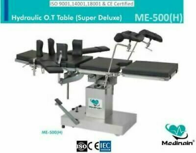 Hydraulic Operation Table ME 500 Operating Room Surgical Table Examination Table