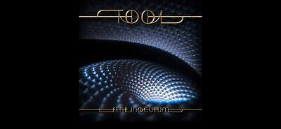"New Tool Fear Inoculum CD Deluxe Limited TriFold 4"" HD Video Screen Speaker Book"